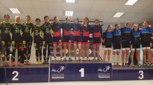 La classifica dei clubs femminili dopo la 1^ tappa del Grand Prix de duathlon France 2018, a Paillencourt, recita così: 1° Stade Français, 2° Les Tritons Meldois e 3° Issy Triathlon