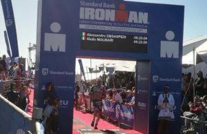 Alessandro Degasperi aveva un conto aperto con l'Ironman South Africa: lo scorso anno non potè disputarlo a causa di un infortunio. In questa edizione 2018 l'ironman italiano è giunto settimo.