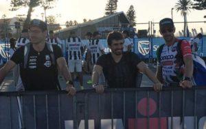"""Oltre ad Alessandro Degasperi l'Ironman South Africa 2018 ha visto al via altri due italiani: Giulio Molinari, anche lui nei top ten, in ottava posizione, e Alberto """"Silver"""" Casadei, 15°"""