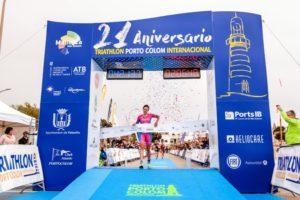 Domenica 8 aprile 2018, la tedesca Natascha Smichtt ha bissato la vittoria ottenuta lo scorso anno al Triatlon Internacional Portocolom sull'Isola di Maiorca