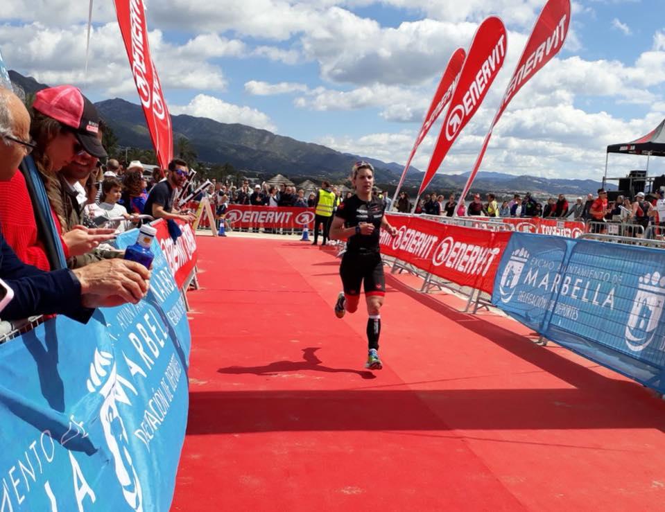 L'azzurra Marta Bernardi è seconda assoluta all'Ironman 70.3 Marbella