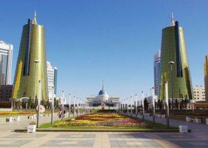 Astana, la capitale del Kazakistan, per la prima volta ospiterà, sabato 19 maggio 2018, una tappa dell'ITU Triathlon World Cup.