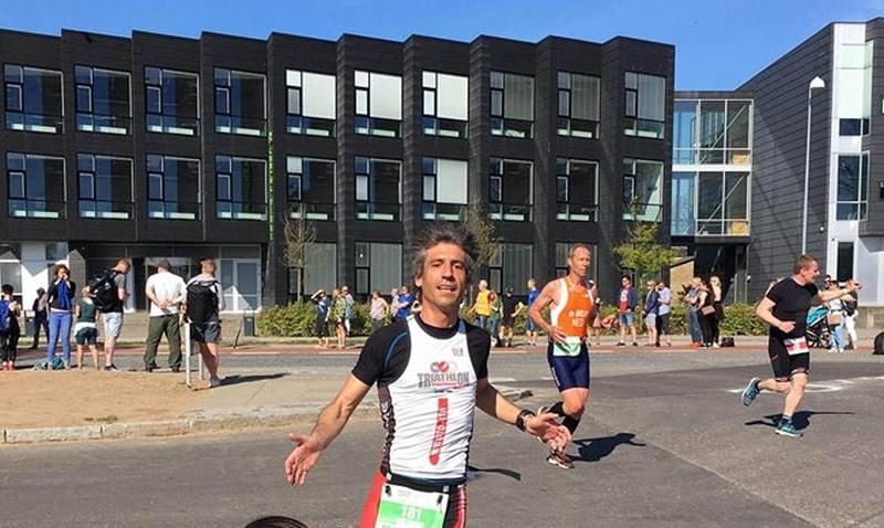Vittorio Giuliano finisher degli Europei di Duathlon Lungo 2018