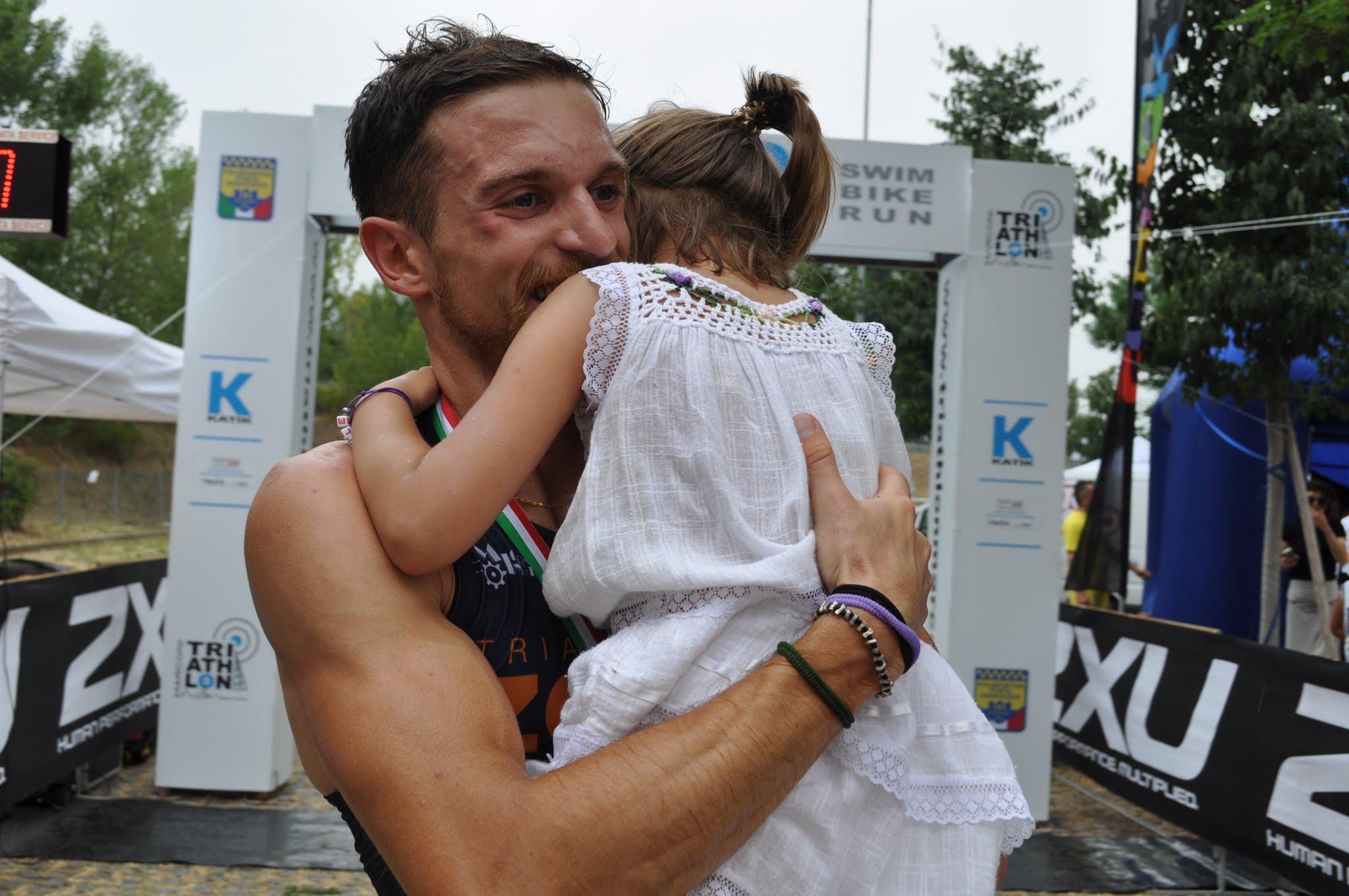 Fulvio Favaron ha vinto il 1° Triathlon Marconi Bologna