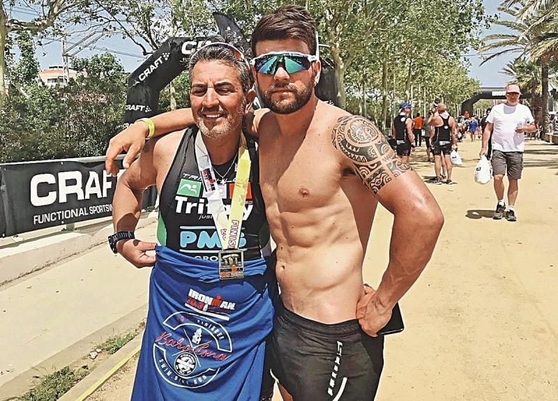 Nel nome del triathlon, di figlio in padre…