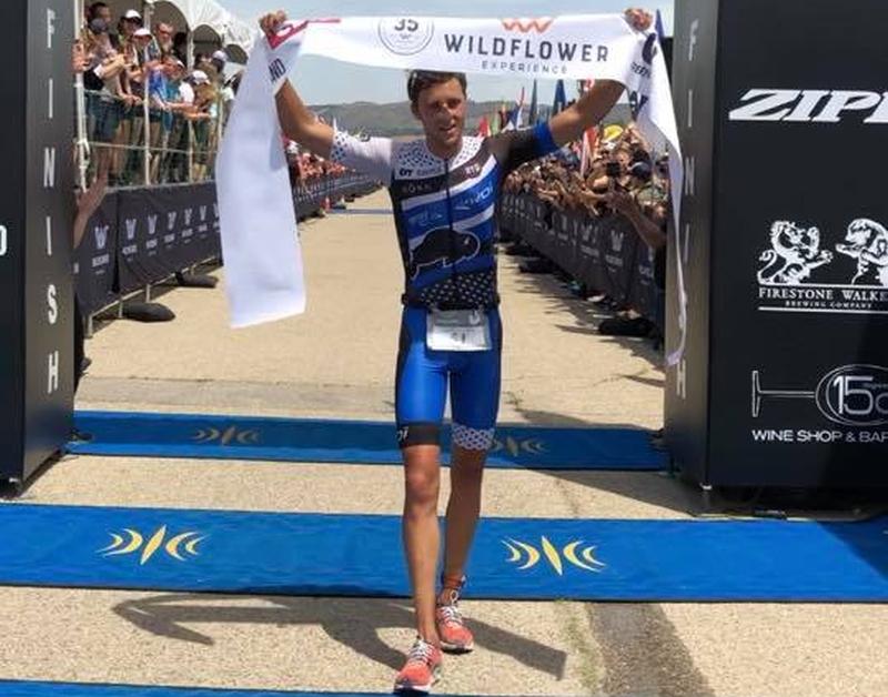 Rudy Von Berg vince il Wildflower Triathlon!