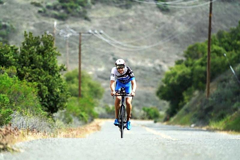 Rudy Von Berg è stato il più bravo nella frazione ciclistica di 90K del 35° Wildflower Triathlon, la Woodstock della triplice italiana!