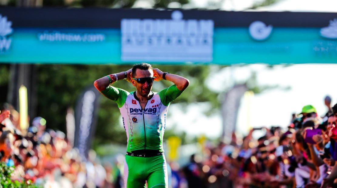 Marino Vanhoenacker entra nella storia: il belga vince l'Ironman Australia 2018 ed è il primo triatleta ad aver vinto almeno 1 Ironman in ogni Continente