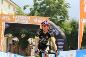 Marialuisa Tavernini, ex nazionale di triathlon e ora Assessore allo Sport del Comune di Arco, si è aggiudicato il Garmin WE TRI half distance
