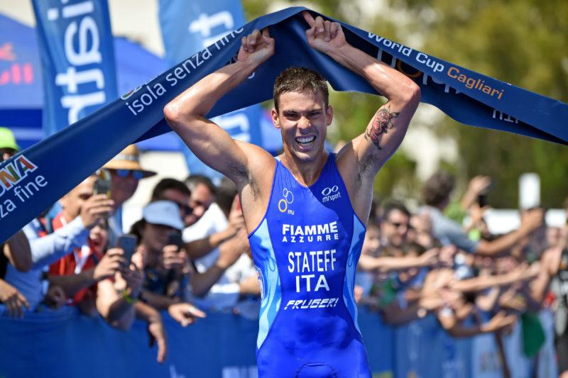 Delian Stateff vince l'ITU World Cup Cagliari!