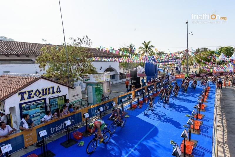 L'ITU Triathlon World Cup torna ad Huatulco. Tre italiani al via