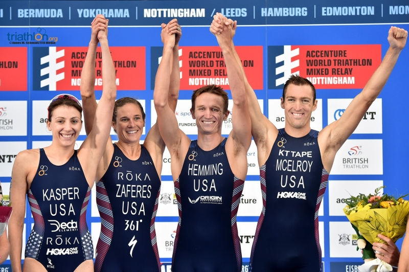 2018-06-07 Nottingham ITU World Triathlon Mixed Relay