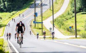 La partenza dell'Ironman 70.3 Finland 2018 sarà data alle 16.00