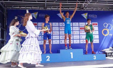 Marcello Ugazio Campione del Mondo U23 di Cross Triathlon!