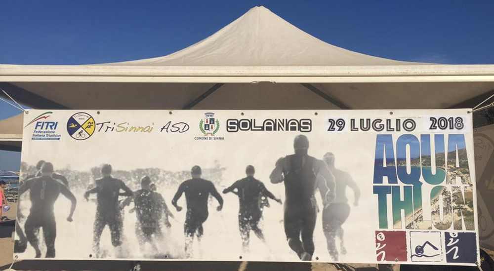 2018-07-29 Aquathlon di Solanas