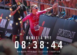 La svizzera Daniela Ryf stravince l'Ironman European Championship Frankfurt 2018, stabilendo il nuovo record del percorso