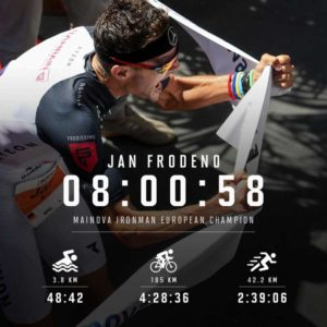 Jan Frodeno, il re dell'Ironman European Championship Frankfurt 2018