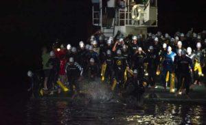 3.8K nelle acque del Lago d'Iseo per la prima frazione dello StoneBrixiaMan