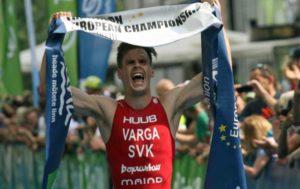 Lo slovacco Richard Varga è il campione europeo di triathlon 2018 su distanza sprint (Foto ©ETU Triathlon)