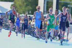 Davide Uccellari chiude l'Europeo di triathlon 2018 in 20^ posizione (Foto ©FiTri / Tiziano Ballabio)