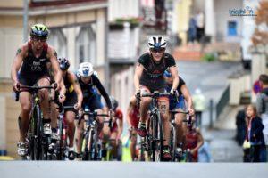 Le italiane Verena Steinhauser e Alessia Orla hanno chiuso l'ITU Triathlon World Cup a Karlovy Vary (Repubblica Ceca) in 6^ e 8^ posizione (Foto ©ITU Media / Janos Schmidt)