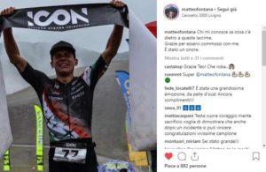 """Matteo Fontana, dopo un lungo periodo lontano dai campi gara, in cui ha più volte dichiarato di dovere """"smettere"""", vince l'ICON Livigno Xtreme Triathlon 2018"""