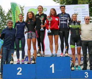 Tania Molinari (Piacenza Triathlon Vittorino) ha vinto il 20° Triathlon Sprint Città di Cremona davanti a Carlotta Bonacina (Raschiani Triathlon Pavese) e Veronica Signorini (Triathlon Cremona Stradivari) - Foto ©Marco Bardella