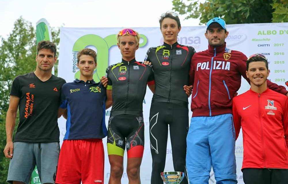 Tania Molinari e Thomas Previtali vincono il 20° Triathlon Sprint Città di Cremona