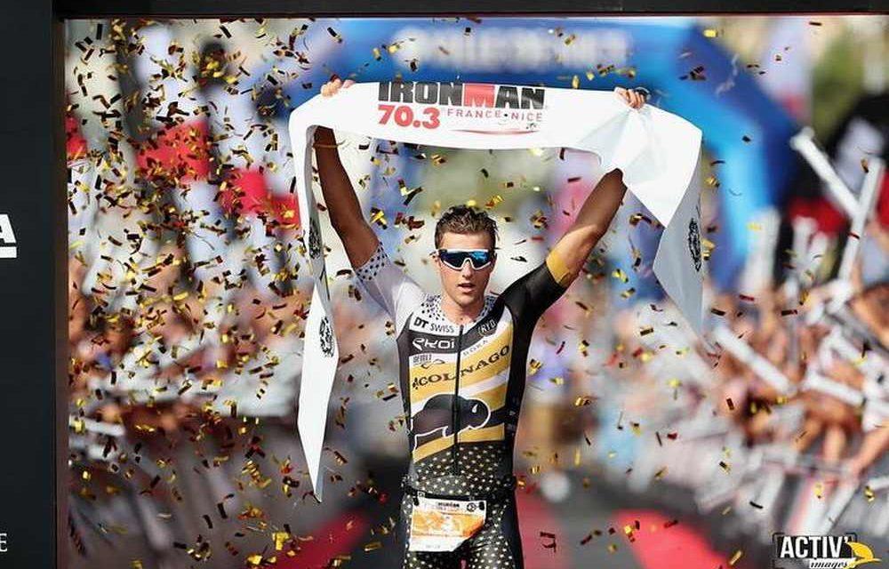 Ironman 70.3 Nice: Rudy Von Berg vince, Giulio Molinari sale sul podio