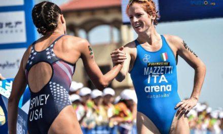 Anna Maria Mazzetti è seconda in CoppaMondo di triathlon a Weihai. Alessandro Fabian entra in top 10