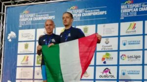 Alberto Ceriani è medaglia d'oro (cat. PTVI) all'ETU Aquathlon European Championship 2018, disputato a Ibiza.