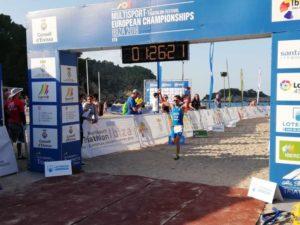 Gianfranco Cucco è medaglia d'oro all'ETU Cross Duathlon European Championship 2018 a Ibiza nella categoria M25-29.