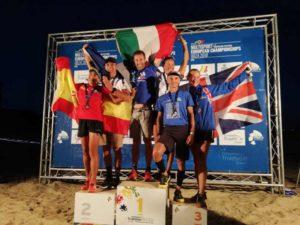 Al Campionato Europeo di cross triathlon 2018, Gianpietro De Faveri è oro, Giovanni Maiello bronzo nella cat. 45-49.