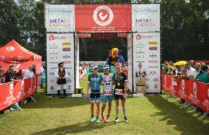 Il podio femminile del 6° Challenge Sardinia Forte Village: la belga Katrien Verstuyft (2^), la svizzera Svenja Thoes (1^) e la tedesca Lena Berlinger (3^) - Foto ©MartinaFolcoZambelli / HLMPHOTO