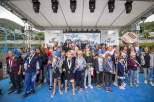 Sabato 6 ottobre si è disputata la Kid's The Island, alla fine della quale tutti i piccoli partecipanti sono stati premiati con la medaglia (Foto ©Matteo Oltrabella)