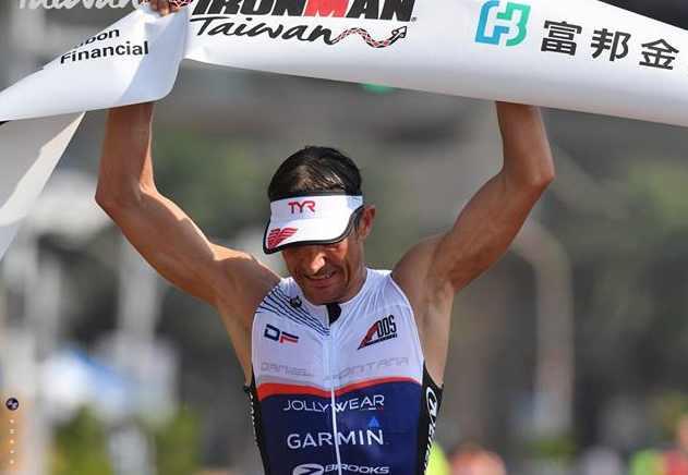 Daniel Fontana, per la sesta volta al via dell'Ironman Hawaii World Championship