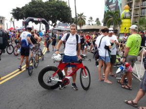 L'esordiente Francesco Gualtieri centra un ottimo quinto posto nella categoria M19-24 all'Ironman Hawaii World Championship 2018