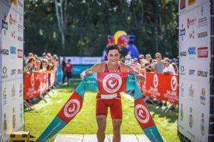Il più veloce al Challenge Sardinia Forte Village Triathlon Sprint 2018 è l'austriaco Marcel Patcheu-Petz (Foto ©Activ'Images)