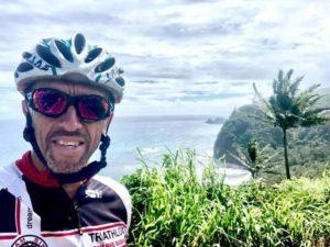"""Mauro Ciarrocchi è il """"veterano"""" della spedizione azzurra: quest'anno sarà il suo 8° Ironman Hawaii World Championship"""