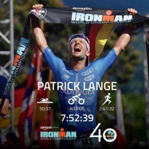 Sotto le 8 ore! Patrick Lange chiude l'Ironman Hawaii World Championship 2018 in 7:52:39, stabilendo il nuovo record del percorso