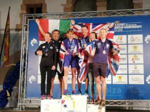 Nicola De Luca è argento all'ETU Duathlon European Championship su distanza classica nella cat. 50-54