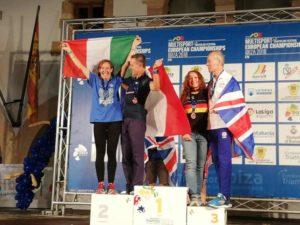 Marinella Sciuccati raddoppia: nell'Europeo di duathlon classico sale ancora sul podio conquistando il secondo posto nella categoria 55-59.