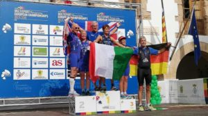 L'azzurra Lucia Soranzo è medaglia d'oro cat. F70-74 all'ETU Duathlon European Championship 2018 corso a Ibiza (ESP) sabato 20 ottobre 2018.