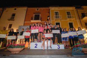 Tra le donne, la DDS sale sul gradino più alto del podio nella classifica finale del Grand Prix Italia Triathlon 2018. Minerva Roma è seconda, The Hurricane terza (Foto ©FiTri / Tiziano Ballabio)