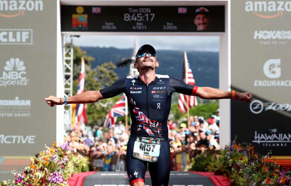 """The Man with Halo"" Tim Don is back: il suo 36° posto all'Ironman Hawaii World Championship 2018 vale quanto un oro"