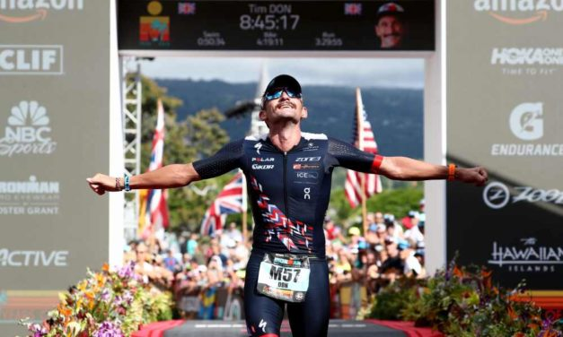 """The Man with Halo"" Tim Don is back: il suo 36° posto all'Ironman Hawaii World Championship 2018 vale quanto un oro"