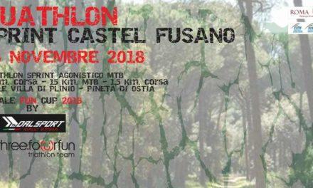 2018-11-18 Duathlon Sprint Mtb Castel Fusano