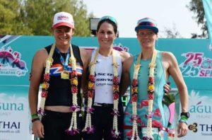 L'australiana Annabel Luxford vince il 25° Laguna Phuket Triathlon, davanti alla connazionale Dimity Lee-Duke e all'ungherese Anna Eberhardt.