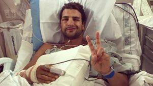 Il neozelandese Terenzo Bozzone è stato vittima di un grave incidente nei primi giorni di luglio 2018.