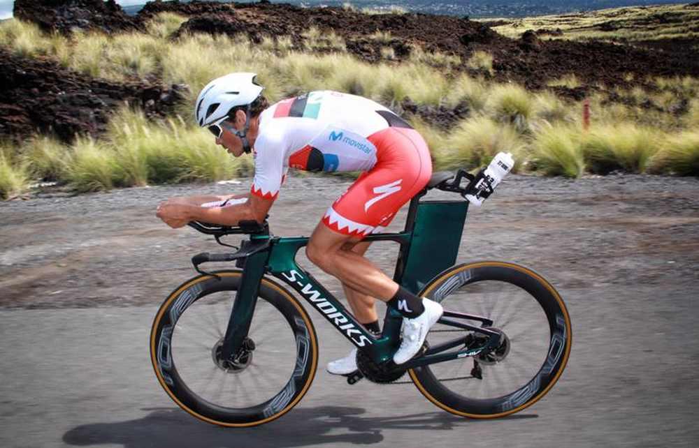 Lo spagnolo Javier Gomez ha disputato il suo primo Ironman Hawaii World Championship nel 2018 e lo ha fatto pedalando sulla S-Works Shiv Disc di Specialized.